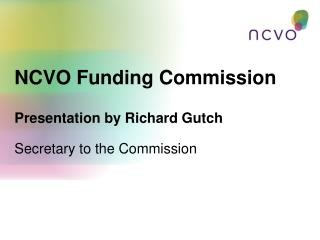 NCVO Funding Commission