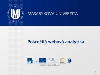 Pokročilá webová analytika