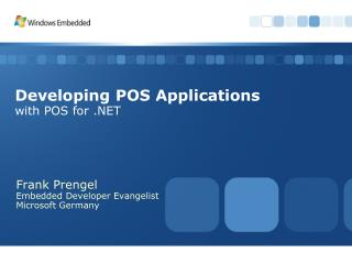 Developing POS Applications with POS for