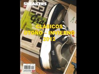 CLÁSICOS OTOÑO – INVIERNO 2012