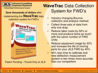 WaveTrac  Data Collection System for FWD's