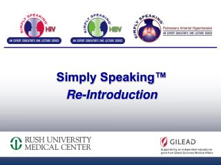 Simply Speaking™  Re-Introduction