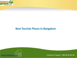 Top Tourist places in Bangalore