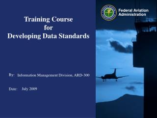 Training Course  for  Developing Data Standards