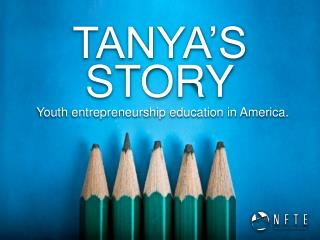 Youth entrepreneurship education in America.