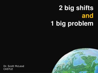 2 big shifts and 1 big problem
