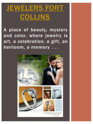 Jewelers Fort Collins