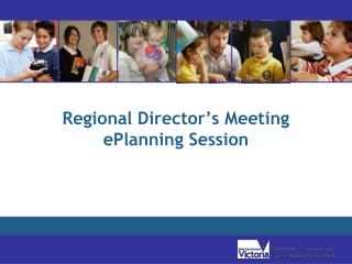Regional Director's Meeting ePlanning Session