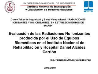 Ing. Fernando Arturo Gallegos Paz