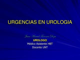 URGENCIAS EN UROLOGIA