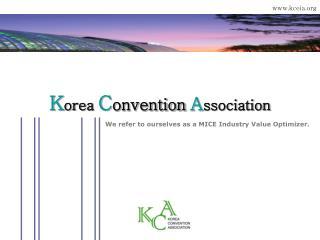 K orea  C onvention A ssociation