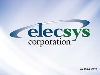 NASDAQ: ESYS