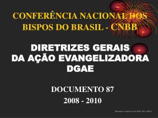 CONFERÊNCIA NACIONAL DOS BISPOS DO BRASIL -  CNBB