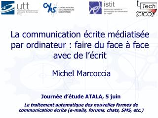 La communication  crite m diatis e par ordinateur : faire du face   face  avec de l  crit