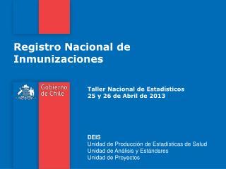 Registro Nacional de Inmunizaciones