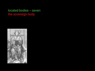 Located bodies   seven the sovereign body