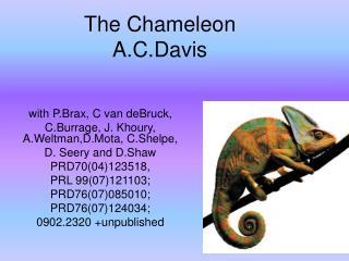 The Chameleon   A.C.Davis