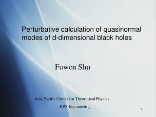 Fuwen Shu