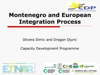 Montenegro and European Integration Process