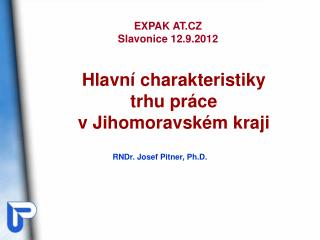 RNDr. Josef Pitner, Ph.D.