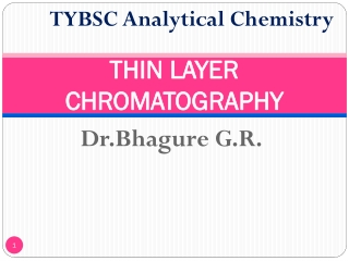Experiment 3.7 AB  Solvent and Polarity Effects in  Thin-layer Chromatography