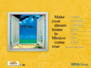 """Operational Process """"Your Dream Home in México"""""""