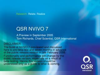 QSR NVIVO 7