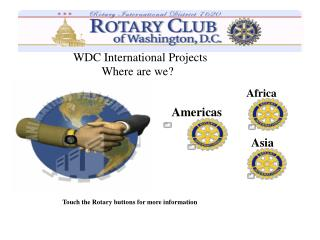 WDC International Projects
