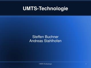 UMTS-Technologie
