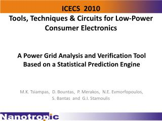 A Power Grid Analysis and Verification Tool Based on a Statistical Prediction Engine