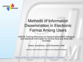 Methods of Information Dissemination in Electronic Format Among Users