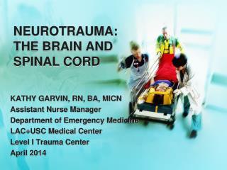 NEUROTRAUMA: THE BRAIN AND SPINAL CORD