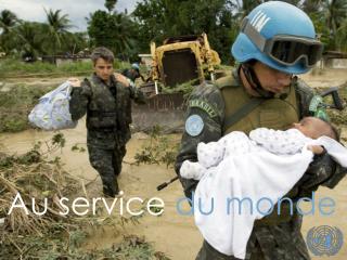 Au service du monde