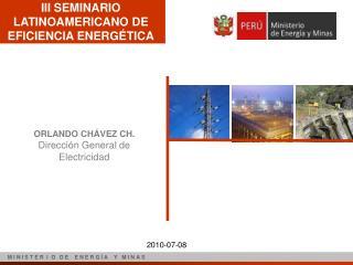 III SEMINARIO LATINOAMERICANO DE EFICIENCIA ENERGÉTICA