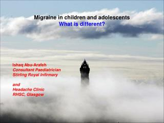 Migraine in children and adolescents  What is different?