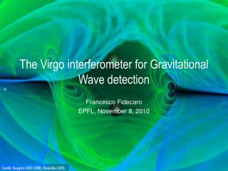 The Virgo interferometer for Gravitational Wave detection