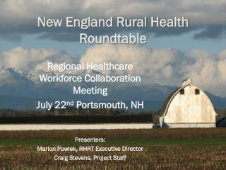 New England Rural Health Roundtable