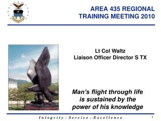 AREA 435 REGIONAL  TRAINING MEETING 2010