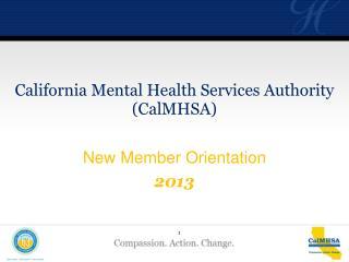 New Member Orientation 2013