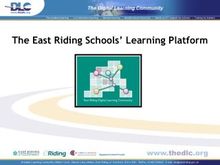 The East Riding Schools  Learning Platform