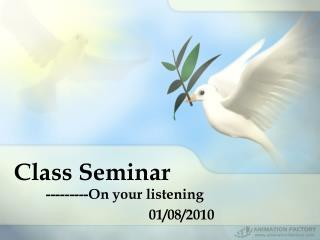 Class Seminar
