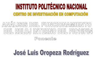 CENTRO DE INVESTIGACIÓN EN COMPUTACIÓN