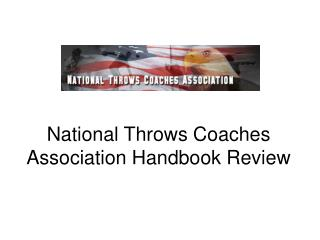 National Throws Coaches Association Handbook Review