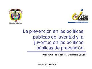 Programa Presidencial Colombia Joven