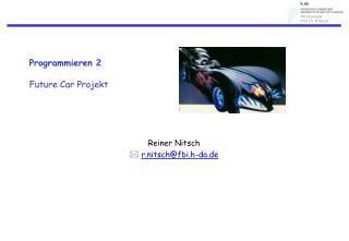 Programmieren 2 Future Car Projekt