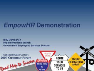 EmpowHR  Demonstration