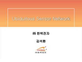 Ubiquitous Sensor Network