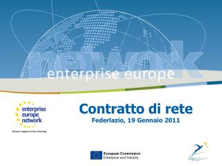 Contratto di rete Federlazio, 19 Gennaio 2011