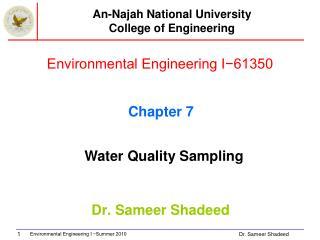 Environmental Engineering I−61350