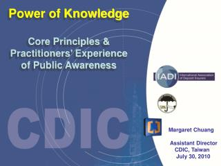 Power of Knowledge Core Principles & Practitioners' Experience  of Public Awareness